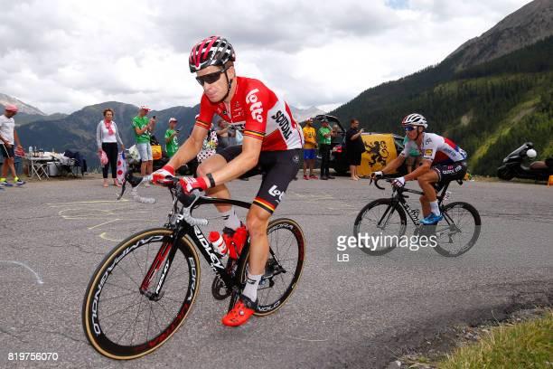 104th Tour de France 2017 / Stage 18 Jurgen ROELANDTS / Zdenek STYBAR / Briancon IzoardCol d'Izoard 2360m / TDF /
