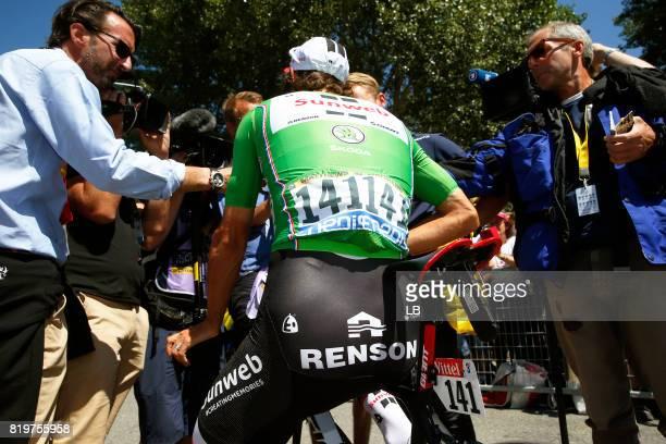 104th Tour de France 2017 / Stage 18 Michael MATTHEWS Green Sprint Jersey / Renson / Interview / Press / Media / Briancon IzoardCol d'Izoard 2360m /...