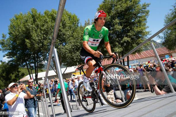 104th Tour de France 2017 / Stage 18 Michael MATTHEWS Green Sprint Jersey / Briancon IzoardCol d'Izoard 2360m / TDF /