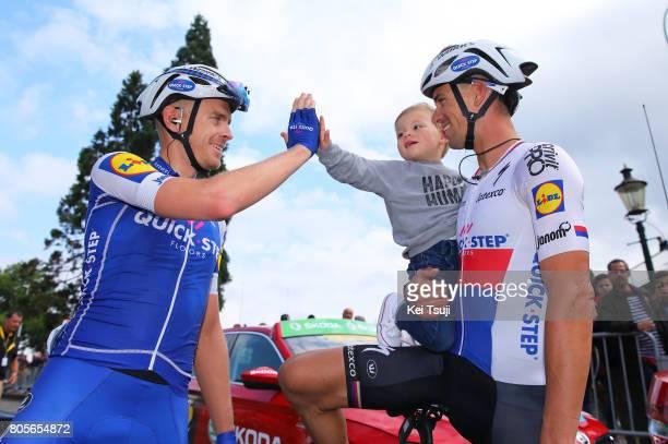 104th Tour de France 2017 / Stage 2 Arrival / Zdenek STYBAR / Lewis STYBAR Son / Julien VERMOTE / Dusseldorf Liege / TDF /