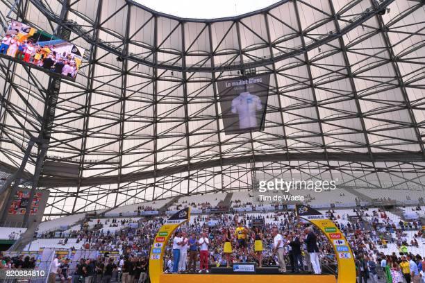 104th Tour de France 2017 / Stage 20 Podium / Christopher FROOME Yellow Leader Jersey / Orange Velodrome / Marseille Marseille / ITT / Individual...