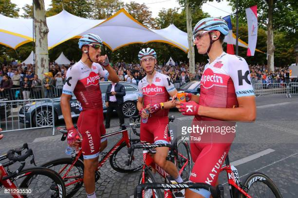 104th Tour de France 2017 / Stage 21 Arrival / Nils POLITT / Reto HOLLENSTEIN / Tony MARTIN / Montgeron Paris ChampsElysees / TDF /