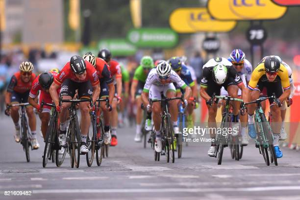 104th Tour de France 2017 / Stage 21 Arrival Sprint / Andre GREIPEL / Borut BOZIC / Edvald BOASSON HAGEN / Dylan GROENEWEGEN / Montgeron Paris...