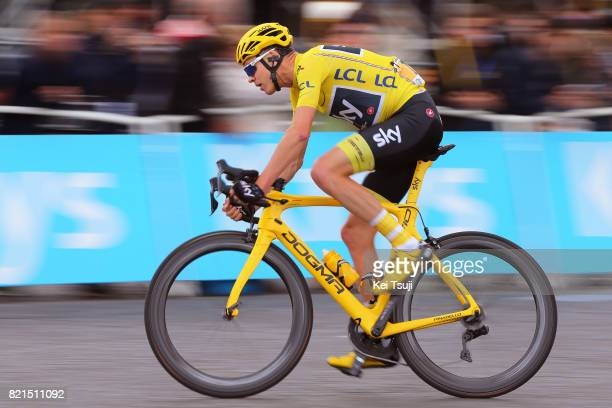 104th Tour de France 2017 / Stage 21 Christopher FROOME Yellow Leader Jersey / Montgeron Paris ChampsElysees / TDF /