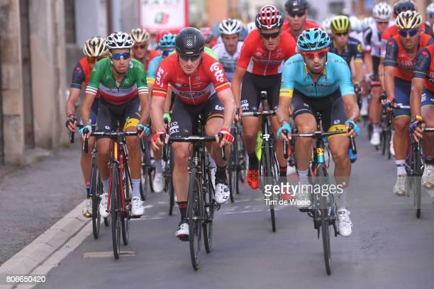 104th Tour de France 2017 / Stage 3 Andre GREIPEL / Fabio ARU / Dario CATALDO / Verviers LongwyCote des Religieuses 379m / TDF /
