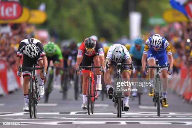 104th Tour de France 2017 / Stage 3 Arrival Sprint / Peter SAGAN / Michael MATTHEWS / Greg VAN AVERMAET / Daniel MARTIN / Verviers LongwyCote des...