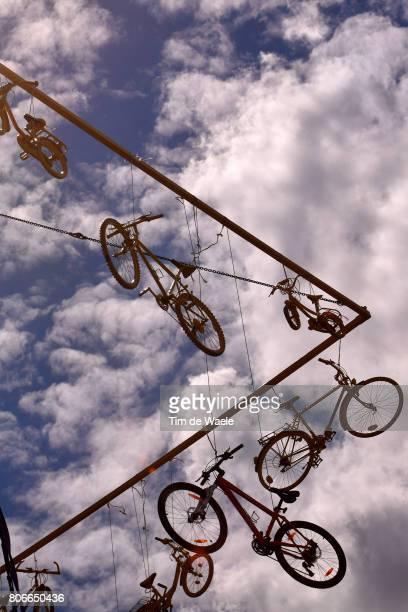 104th Tour de France 2017 / Stage 3 Bikes / Silhouet / Illustration / Verviers LongwyCote des Religieuses 379m / TDF /