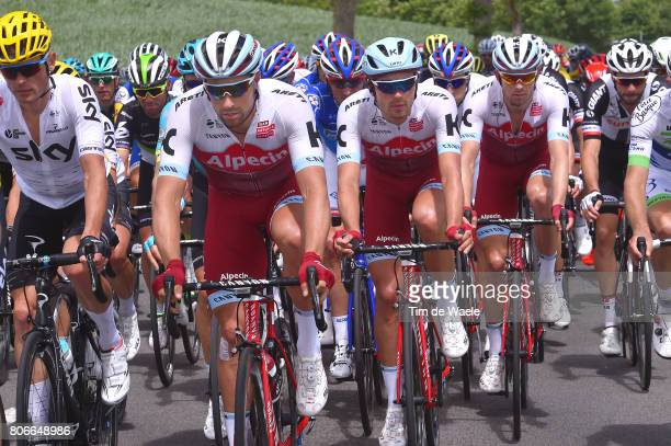 104th Tour de France 2017 / Stage 3 Marco HALLER / Rick ZABEL / Alexander KRISTOFF / Verviers LongwyCote des Religieuses 379m / TDF /