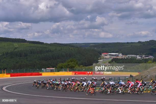 104th Tour de France 2017 / Stage 3 Peloton / F1 Circuit de SpaFrancorchamps / Landscape / Verviers LongwyCote des Religieuses 379m / TDF /