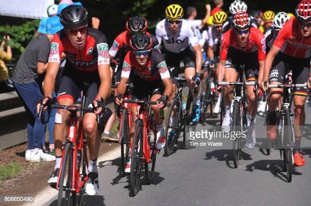 104th Tour de France 2017 / Stage 3 Richie PORTE / Michael SCHAR / Verviers LongwyCote des Religieuses 379m / TDF /