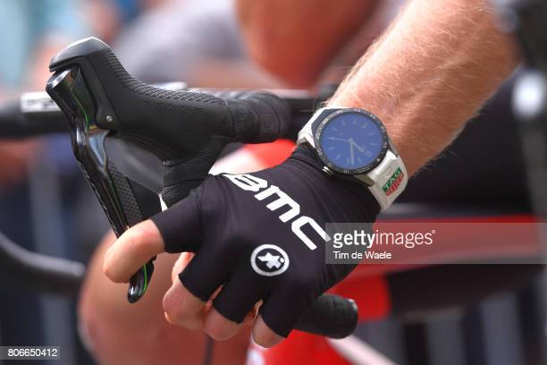 104th Tour de France 2017 / Stage 3 Tag Heuer Watch / Stefan KUNG White Bes Young Rider Jersey / BMC Racing Team / Assos Gloves / Verviers LongwyCote...