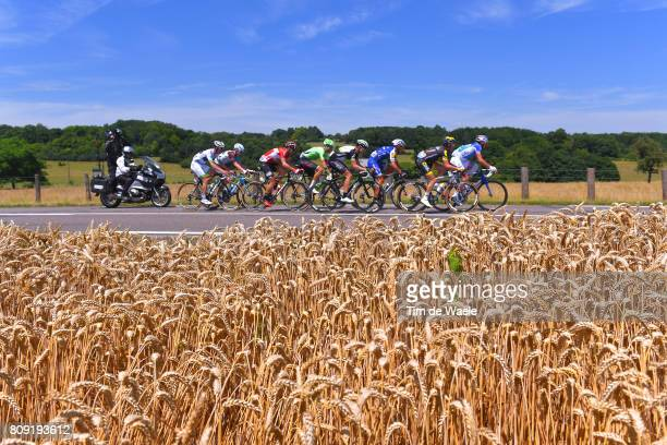 104th Tour de France 2017 / Stage 5 Landscape / Jan BAKELANTS / Dylan VAN BAARLE / Thomas DE GENDT / Mickael DELAGE / Thomas VOECKLER / Edvald...