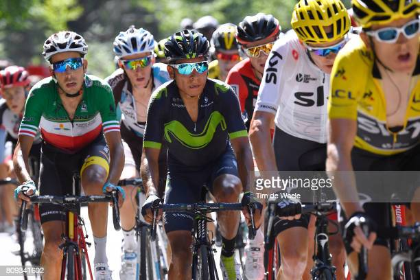 104th Tour de France 2017 / Stage 5 Nairo QUINTANA / Fabio ARU / Christopher FROOME / Vittel - La Planche des Belles Filles 1035m / TDF/ pool lb/