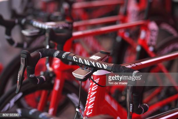104th Tour de France 2017 / Stage 5 Start / Illustration / Canyon Bike / Team Katusha - Alpecin / Garmin Power-meter / Vittel - La Planche des Belles...