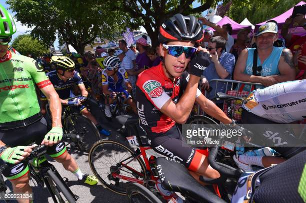 104th Tour de France 2017 / Stage 5 Start / Richie PORTE / Vittel - La Planche des Belles Filles 1035m / TDF/