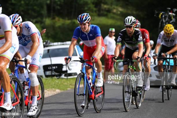 104th Tour de France 2017 / Stage 8 Arnaud DEMARE / Mark RENSHAW / Dole Station des Rousses 1178m / TDF /