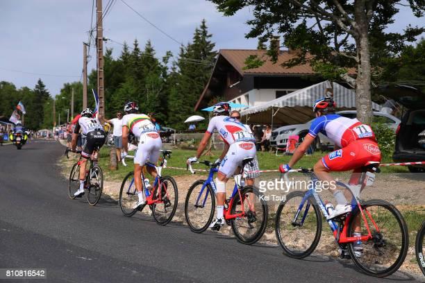 104th Tour de France 2017 / Stage 8 Arnaud DEMARE / Mickael DELAGE / Ignatas KONOVALOVAS / Dole Station des Rousses 1178m / TDF /