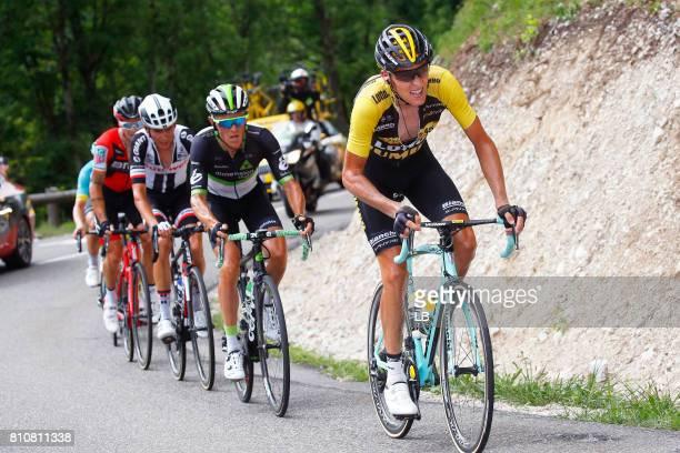 104th Tour de France 2017 / Stage 8 Robert GESINK / Serge PAUWELS / Dole Station des Rousses 1178m / TDF /