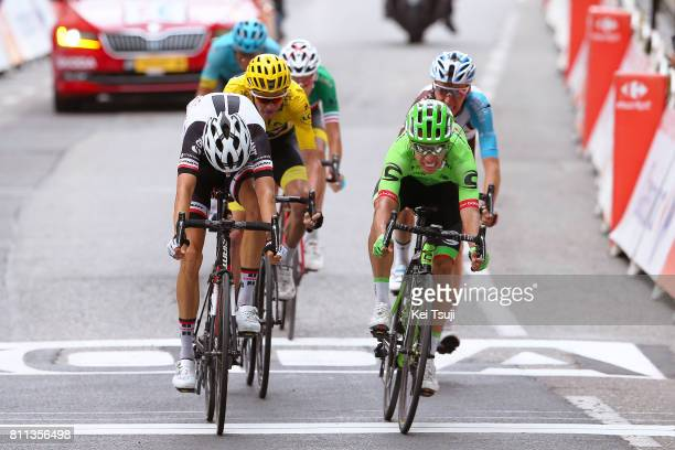 104th Tour de France 2017 / Stage 9 Arrival / Sprint / Warren BARGUIL / Rigoberto URAN / Christopher FROOME Yellow Leader Jersey / Romain BARDET /...