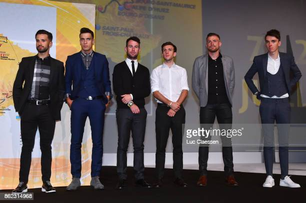 105th Tour de France 2018 / Presentation Nacer BOUHANNI / Rayanne BOUHANNI / Mark CAVENDISH / Simon YATES / Romain BARDET / Le Palais des Congres /...