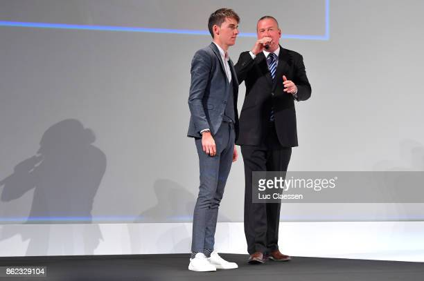 105th Tour de France 2018 / Presentation Romain BARDET / Le Palais des Congres / Presentation TDF / ©Tim De WaeleLC/Tim De Waele/Corbis via Getty...