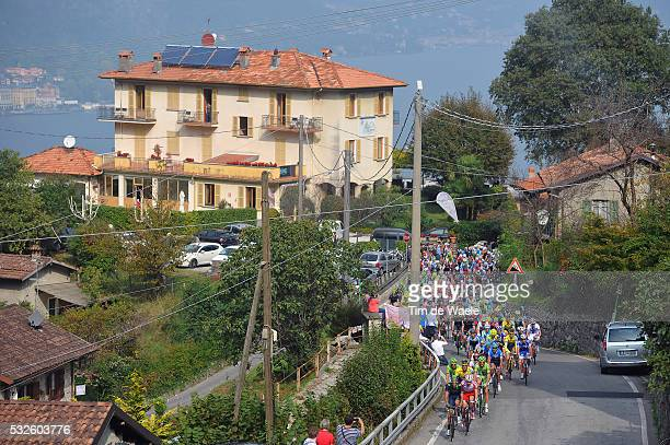 108th Tour of Lombardie 2014 Illustration Illustratie / BELLAGIO City Ville Stad / Madonna Del Ghisallo 754m / Peleton Peloton / Landscape Paysage...