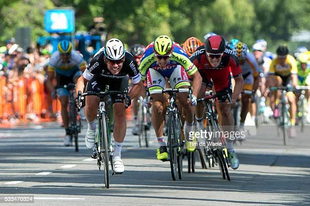 10th Amgen Tour of California 2015/ Stage 1 Arrival/ Sprint/ Mark CAVENDISH / JeanPierre DRUCKER / Peter SAGAN / Sacramento Sacramento ATOC/ Amgen/...
