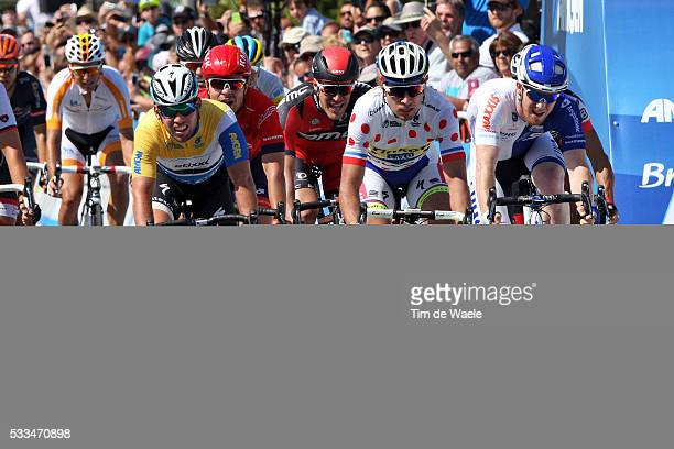10th Amgen Tour of California 2015/ Stage 2 Arrival/ Sprint/ Mark CAVENDISH Yellow Leader Jersey/ SAGAN Peter Mountain Jersey/ MURPHY John / DRUCKER...