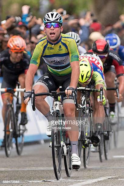 10th Amgen Tour of California 2015/ Stage 5 Arrival/ CAVENDISH Mark Sprint Jersey Celebration Joie Vreugde/ WAEYTENS Zico/ SAGAN Peter / DRUCKER...
