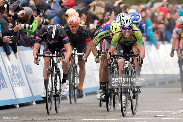 10th Amgen Tour of California 2015/ Stage 5 Arrival/Sprint/ CAVENDISH Mark Sprint Jersey / WAEYTENS Zico/ SAGAN Peter / DRUCKER JeanPierre / Santa...