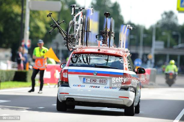 10Th Eneco Tour 2014 Stage 3Illustration Illustratie /Car Voiture Auto/ Kathusa Team /Breda Breda Time Trial Contre La Montre Tijdrit Tt Rit Etape...