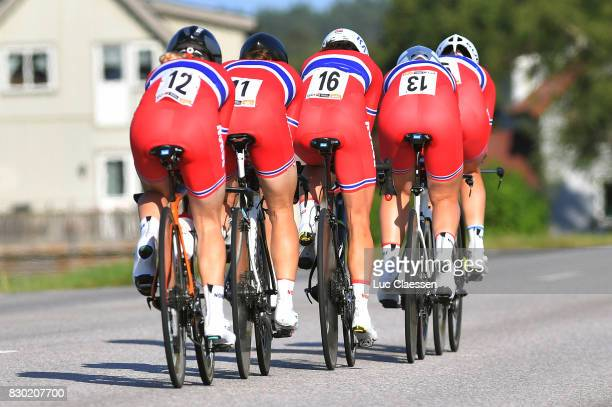 10th Open de Suede Vargarda 2017 / Women TTT Team Norway / Ingrid MOE / Stine Anderson BORGLI / Malin ERIKSEN / Line Marie GULLIKSEN / Julie Meyer...