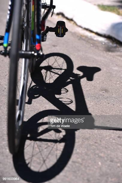 10Th Tour De San Luis 2016, Stage 3 Illustration Illustratie, Sagan Peter / Specialized Bike Velo Fiets, Shadow Hombre Schaduw, Potrero De Los Funes...