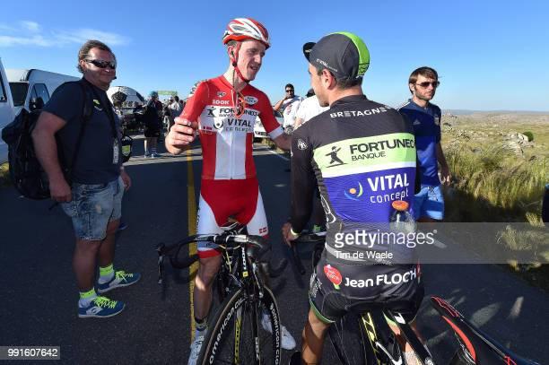 10Th Tour De San Luis 2016 Stage 4 Arrival Sepulveda Eduardo / Sorensen Chris Anker / Celebration Joie Vreugde San Luis Terrazas Del Portezuelo Cerro...