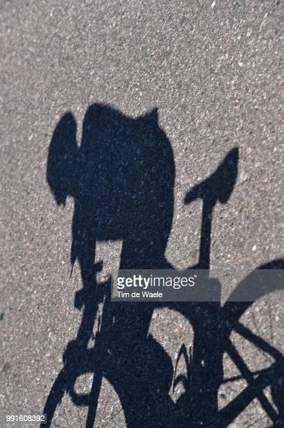 10Th Tour De San Luis 2016, Stage 4 Illustration Illustratie, Shadow Hombre Schaduw, San Luis Terrazas Del Portezuelo - Cerro El Amago 1710M / Rit...