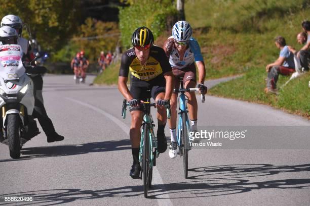 111th Il Lombardia 2017 Primoz ROGLIC / Mickael CHEREL / Bergamo Como / IL /