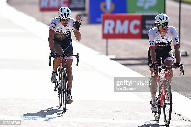 114th Paris Roubaix 2016 Arrival / CANCELLARA Fabian / STUYVEN Jasper / Compiegne Roubaix / Parijs PR / Tim De WaeleLC/Tim De Waele/Corbis via Getty...