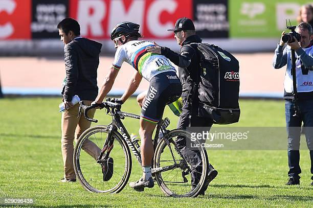 114th Paris - Roubaix 2016 SAGAN Peter / Soigneur Verzorger Kine / Compiegne - Roubaix / Parijs PR / Tim De WaeleLC/Tim De Waele/Corbis via Getty...
