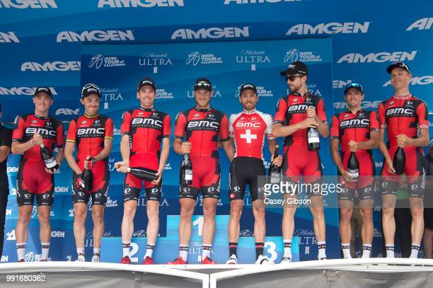 11Th Amgen Tour Of California 2016 Stage 8Podium Bmc Racing Team Best Team Brent Bookwalter / Rohan Dennis / Jeanpierre Drucker / Taylor Phinney /...