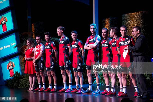 11th Amgen Tour of California 2016 / Team Presentation / Rohan DENNIS / Brent BOOKWALTER / JeanPierre DRUCKER / Taylor PHINNEY / Samuel SANCHEZ...
