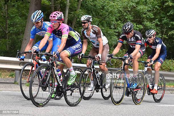 11th Eneco Tour 2015 / Stage 6 Jan POLANC / Sebastien TURGOT / Nikias ARNDT / Matthias BRANDLE / Jerome BAUGNIES / Heerlen - Houffalize / Rit Etape...