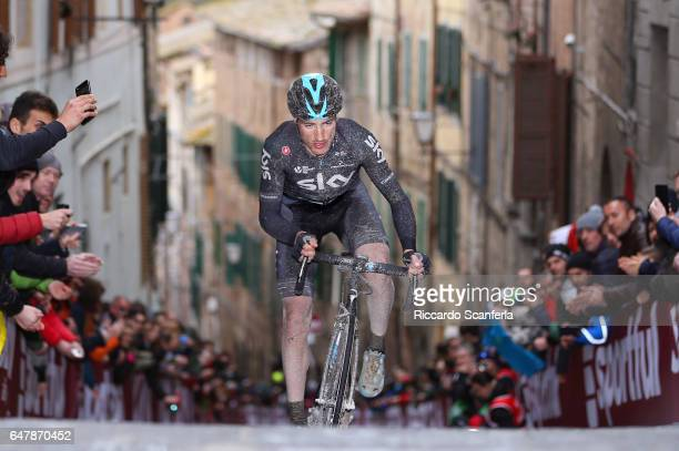 11th Strade Bianche 2017 Gianni MOSCON / Siena Siena / Eroica/