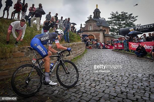 12nd Eneco Tour 2016 / Stage 7 Niki TERPSTRA / Muur van Geraardsbergen / Chapel / Bornem - Geraardsbergen / / Tim De WaeleLC/Tim De Waele/Corbis via...