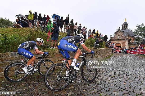 12nd Eneco Tour 2016 / Stage 7 Tony MARTIN / Niki TERPSTRA / Muur van Geraardsbergen / Chapel / Bornem - Geraardsbergen / / Tim De WaeleLC/Tim De...