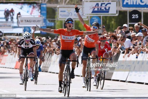 12th Amgen Tour of California Men 2017 / Stage 4 Arrival / Evan HUFFMAN Celebration / Rob BRITTON / Lennard HOFSTEDE / Matthias Le TURNIER / Santa...
