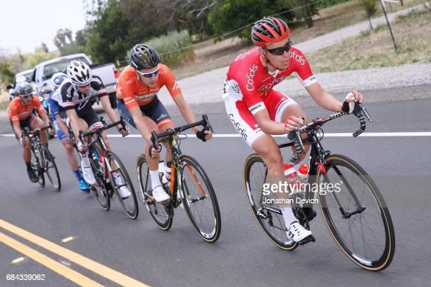 12th Amgen Tour of California Men 2017 / Stage 4 Matthias LE TURNIER / Evan HUFFMAN / Lennard HOFSTEDE /Gavin MANNION / Rob BRITTON / Santa Barbara-...