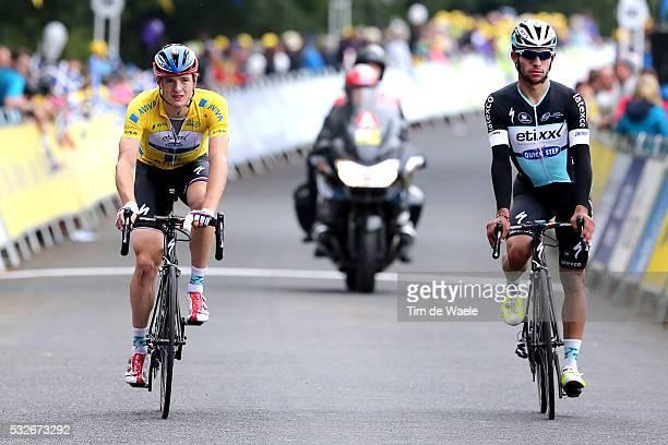 12th Tour of Britain 2015/ Stage 3 Arrival/ VAKOC Petr Yellow Leader Jersey/ Deception/ GAVIRIA Fernando / Cockermouth - Floors Castle. Kelso / Rit...