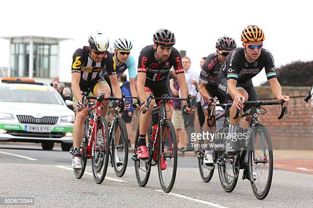 12th Tour of Britain 2015/ Stage 3 FARRAR Tyler / CRONSHAW Matt / BIALOBLOCKI Marcin / McEVOY Johnny / KRUOPIS Aidis / Cockermouth - Floors Castle....