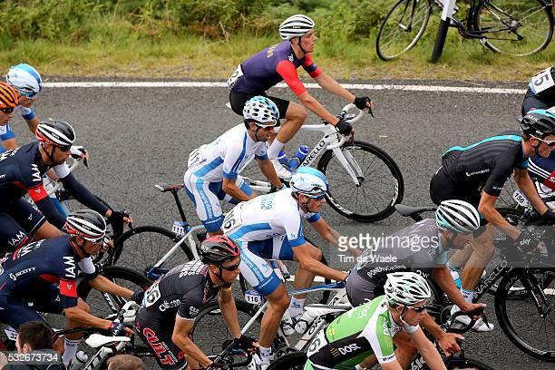 12th Tour of Britain 2015/ Stage 3 MEGIAS Javier / DE MESMAEKER Kevin / Cockermouth - Floors Castle. Kelso / Rit Etape / Tour of Britain /Tim De Waele