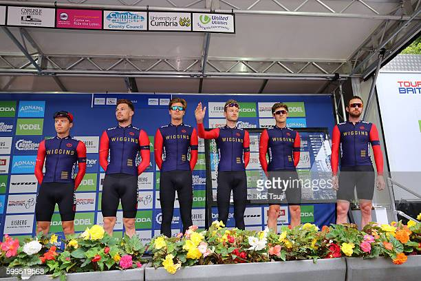 13rd Tour of Britain 2016 / Stage 2 Team Wiggins / Bradley WIGGINS / Jonathan DIBBEN / Owain DOULL / Mark CHRISTIAN / Christopher LATHAM / Daniel...